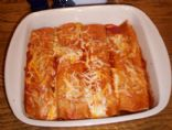JASONZ's Cheesy Chicken Enchiladas