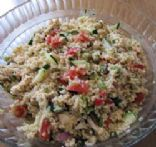 Bulgar Greek Salad