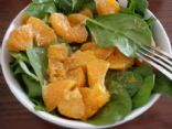 Spinach Salad with Orange Sesame Dressing