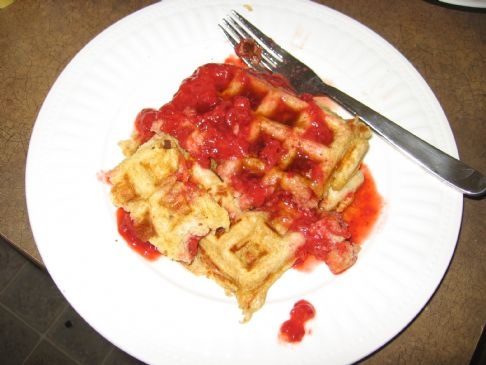 Low Fat Overnight Waffles