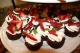 Tuxedo Brownie Cups from Pampered Chef