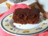 Chocolate and orange cake with