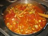 WW Zero Point Veggie Soup (Variation)