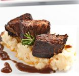 Crock Pot Red Wine Braised Beef Short Ribs