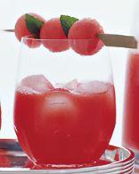 Watermelon Sangria (Eat Clean)