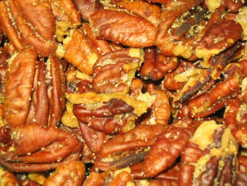 Dangerously Addictive Oven Roasted Pecans