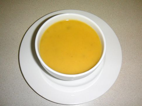 Robin's Roasted Squash & Apple Soup
