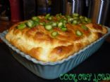 Mozzarella Cheese Souffle - under 200 calories (by www.cookoutloud.com)