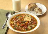 Slow Cooker Minestrone Soup (Not Vegetarian)