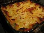 MAKEOVER: Low Fat Spinach Lasagna (by LADYKNIGHTSHADE)