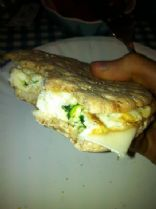 Eggs Florentine Breakfast Sandwich