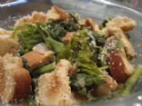 Warm Greens & Bread Salad