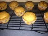 PB2 chocolate surprise muffins
