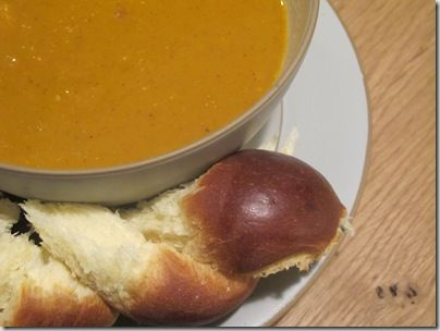 Emily's Creamy Butternut Squash, Carrot, & Apple Soup
