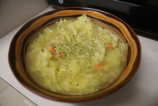 Spicy Indian Cabbage Soup