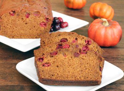 Samantha's Cranberry Pumpkin Bread