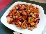 Yam and Chickpea Salad
