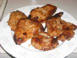 Oven Fried  Boneless Pork Chops