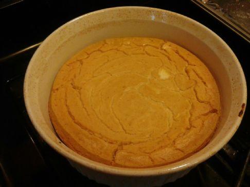 Lower Fat Pumpkin Cheese Cake, double serving mixture