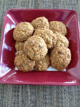 Hemp Oatmeal Raisin Cookies