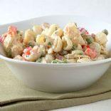 L.R. tuna pasta salad with fat-free dressing