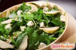 Spinach and Pear Salad with Dijon Vinaigrette