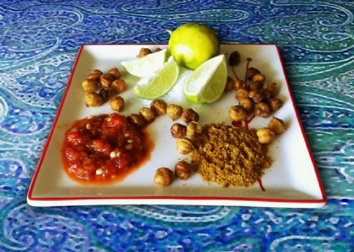 Indian Lemon Chili Chickpeas