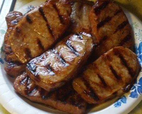 Teriyaki Brown Sugar Pork Chops