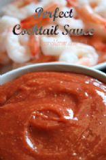Lower carb shrimp cocktail sauce