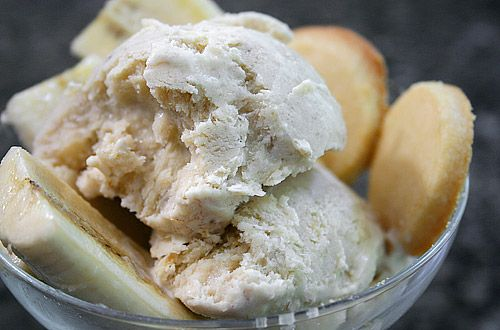 Homemade Banana Cinnamon Icecream
