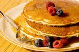 Summer fruits farmer's cheese pancakes