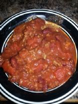 Chunky Chilli for large family