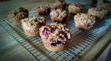 Wheat Bran Muffins, Lowfat and Low Sugar