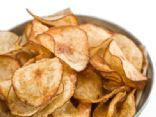 Microwave Herb Potato Chips