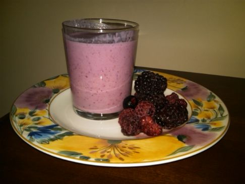 Refreshing 4 Berry Yogert Drink