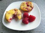 Raspberry & Yogurt Muffins (Grain-free)