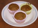 Pumkin Buckwheat Muffins
