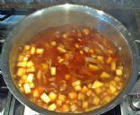 Deb's Lovely Low Calorie Chicken Noodle Soup