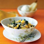 Acorn Squash and Kale Over Penne