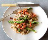 Farro with Chicken & Asparagus