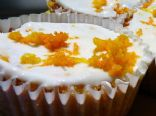 Orange Cardamom Cupcakes With Orange Yogurt Icing