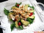 Dilled Shrimp Salad with Herb Dill Dressing