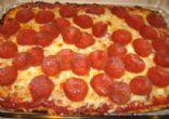 Flourless Gluten Free Pizza