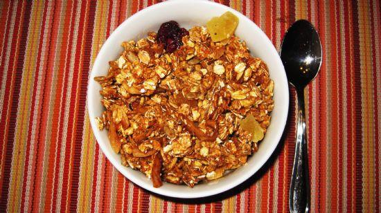 Granola -Clumpy Crunchy Perfect!!