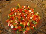 Tomatoes-Radish Bruchetta