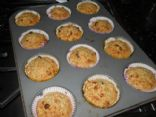 Oatmeal Almond Raisin Muffins