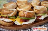 Bacon, Egg & Avocado Breakfast Sandwich