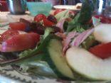 Light Fruit and Veg Summer Salad