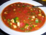Mexican Gazpacho (Cold soup)
