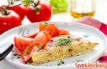 Smoked Salmon and Cream Cheese Frittata